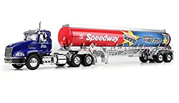 2016 Speedway Toy Truck 1 64 Diecast MACK Pinnacle Day Cab w/ Fuel Tanker Trailer - Substitute HESS 2016