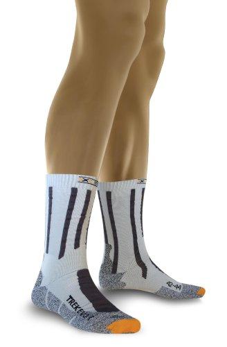 X-Socks Trekking Evolution, Calze Uomo, Grigio/Antracite, 42/44