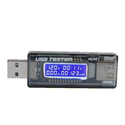 Babysbreath17 Teléfono móvil de Carga rápida Detector USB probador de Cargador USB USB de la Corriente del voltímetro Probador USB Display Digital medidor de amperaje