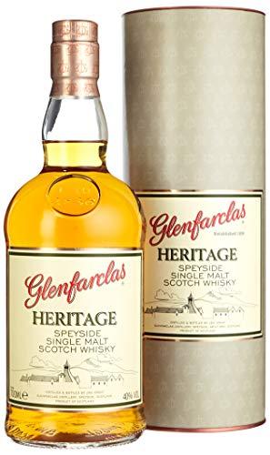 Glenfarclas Heritage Speyside Single Malt Scotch Whisky mit Geschenkverpackung (1 x 0.7 l)