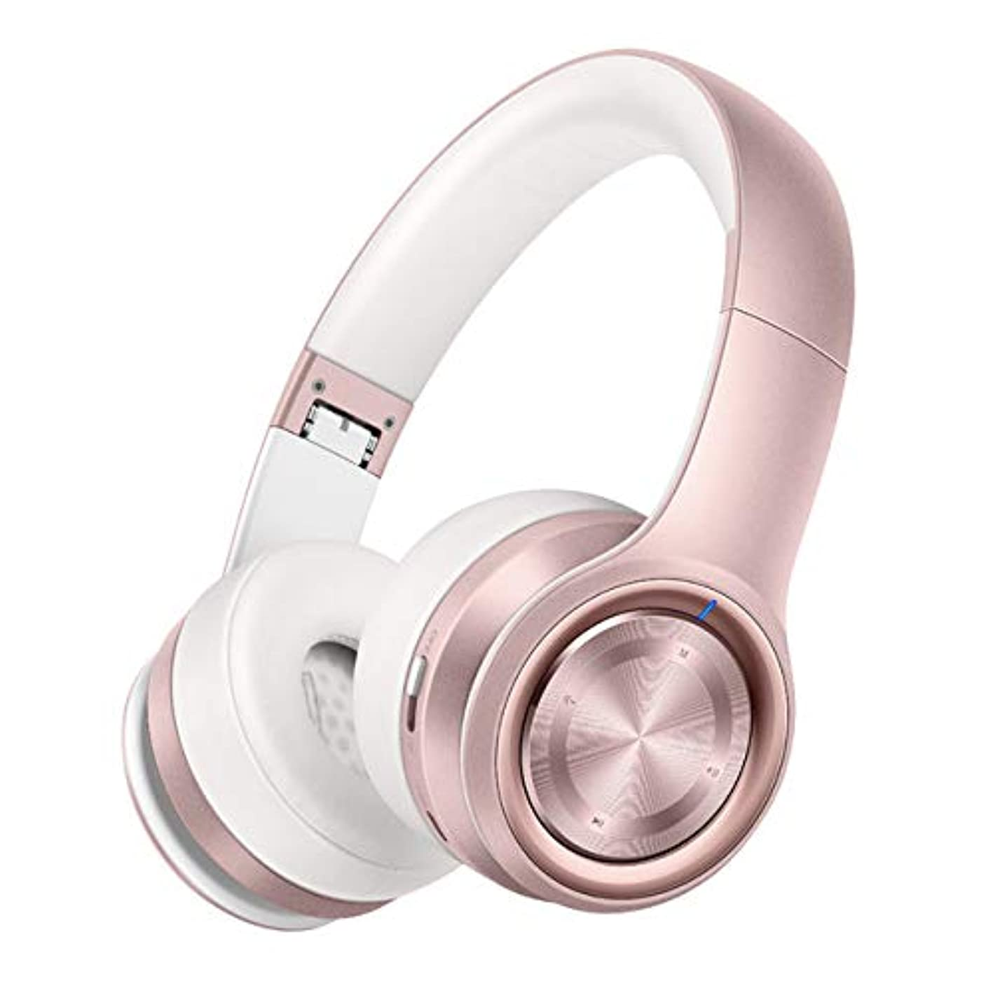 Noise Cancelling Over-Ear Headphones, Wireless Bluetooth Headphones Over Ear Earphones with 28 Hrs Playtime with Built-in Mic muiizrisbau371