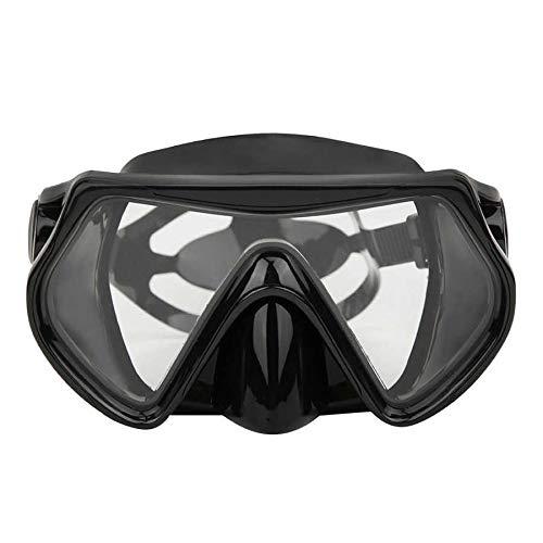 MHSHKS Máscara De Buceo Escafandra Autónoma Máscara De Esnórquel Vidrios Templados Lente Gafas De Natación De Visión Amplia Gafas De Buceo De Rescate Submarino para Adultos
