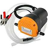 Amarine Made 12V 60W Oil Change Pump Extractor, Oil/Diesel Fluid Pump Extractor Scavenge Oil Change Pump Transfer Suction Transfer Pump with Tubes Truck Rv Boat ATV (60W)