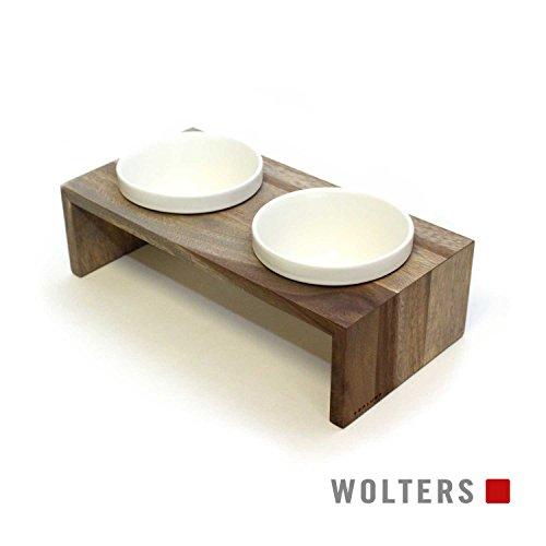 Wolters | Doppelnapf Gohan schiefer | 1,0 l