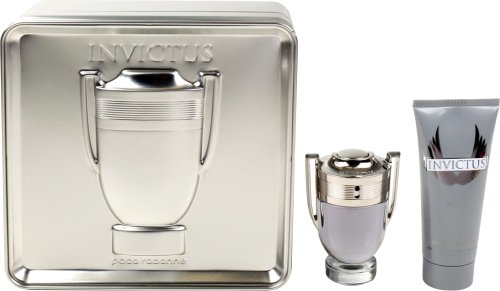 Paco Rabanne Invictus Geschenkset homme/men, Eau de Toilette, Vaporisateur/Spray 50 ml, Duschgel 100 ml, 1er Pack (1 x 150 ml)