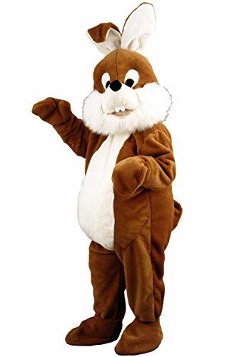Kostuem24 Hasenkostüm braun Osterhase Bunny Promotionqualität