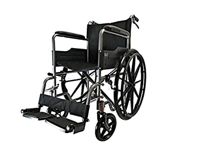 D PRO T MAG Wheels Lightweight Folding Self Propelled Wheelchair Removable Footrests Puncture Proof With Armrest And Portable
