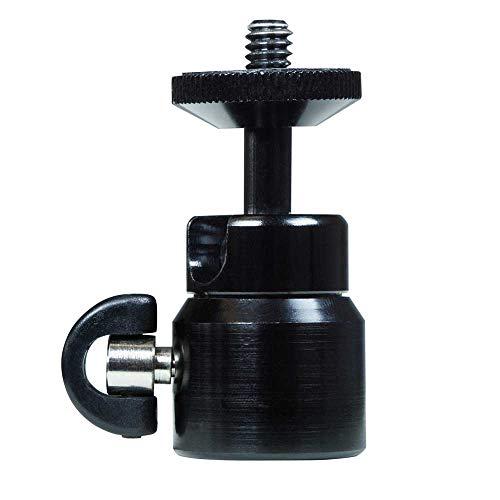 Dörr MK-48 Stativaufsatz Schwarz 1/4 Kugellager - Stativaufsätze (48 mm, 42 g, Schwarz)