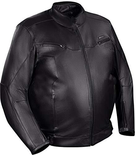 Bering Gringo Übergröße Motorrad Lederjacke W-L