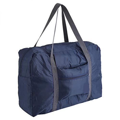 Mothinessto Borsone da Viaggio Pieghevole con Tracolla per Viaggio Borsone da Viaggio Pieghevole di Grandi Dimensioni per riporre Ogni Giorno(Dark Blue)