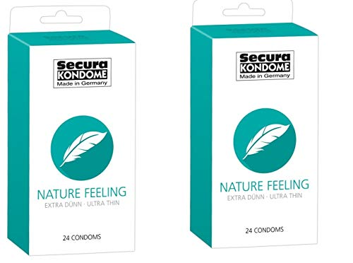 Kondom - Diese transparenten Kondome sind derart dünn, dass Sie beim Penetrieren Ihrer Partnerin das Gefühl haben, kein Kondom zu tragen.