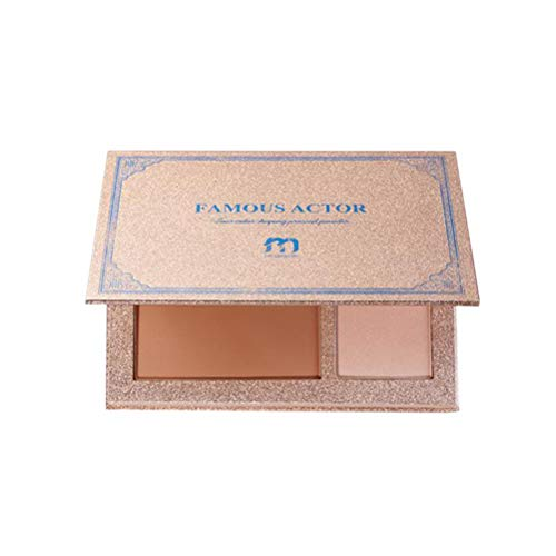 Frcolor Facial Foundation Make-up Powder Bottom helle weibliche spezielle Foundation Make-up Pulver