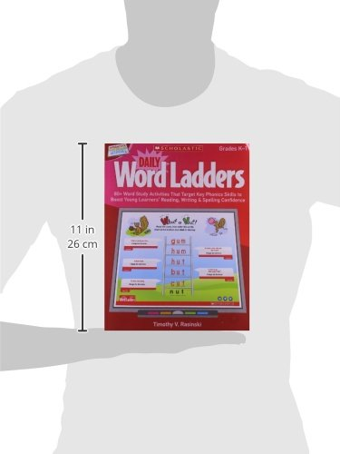 Interactive Whiteboard Activities: Daily Word Ladders (Gr. K–1): 80+ Word Study Activities That Target Key Phonics Skills to Boost Young Learners' ... Whiteboard Activities (Scholastic))