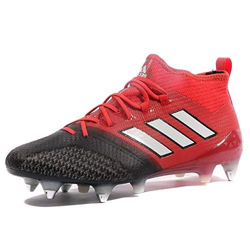 adidas Ace 17.1 Primeknit SG, Scarpe da Calcio Uomo, Rosso (Red/Ftwr White/Core Black), 40 EU