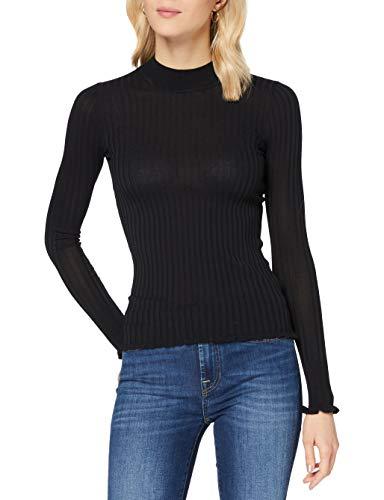 HUGO Damen Starri 10231023 01 Pullover, Black1, L
