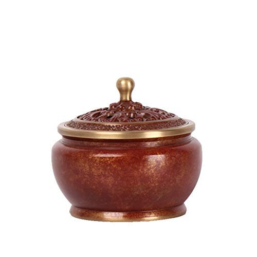 LAOJUNLU Puur koperen wierookbrander, kleur koper brandende kleur, handgemaakte wierookbrander, roker, woondecoratie, nieuwe aanbieding Chinese traditionele ornamenten