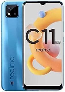 Realme C11 (2021) Dual Sim - 32GB, 2GB RAM, 4G LTE - Lake Blue