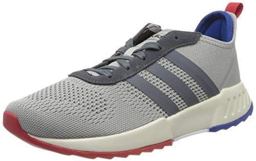 adidas Herren Phosphere Laufschuhe, Grau (Grau Zwei F17 / Onix/Scarlet), 43 1/3 EU