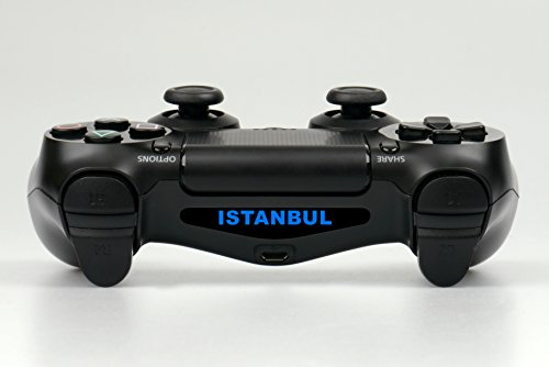 PS4 Controller Light Bar LED Decal Sticker Istanbul