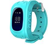 Meckwell GPS Tracker Smart Watch Phone Call for Kids with SIM Slot Anti-Lost