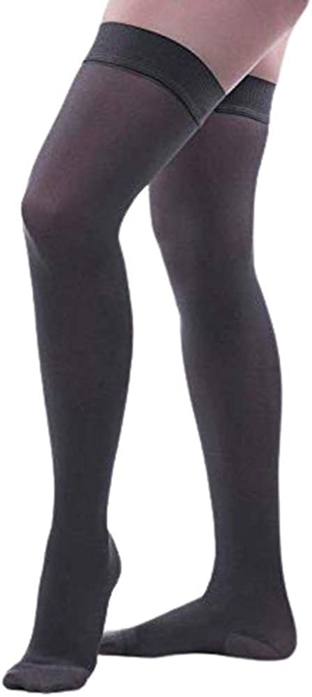 Allegro Deluxe 15-20 mmHg Soft 260 Microfiber High Time sale Compression Ho Thigh