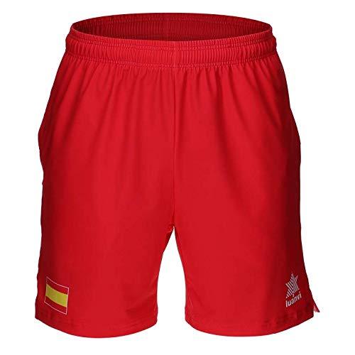 Luanvi Short Pantalon Corto Capri Tenis RFET Copa Davis 19