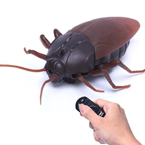 Remote Control Toy, Lumisun Fake Roach Infrared Remote Control Scarafaggio Trucco Scherzo Scarafaggio Giocattolo Insetto