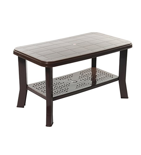 Lowest Price! Cello Oasis Four Seater Centre Table (Ice Brown)