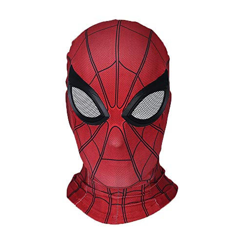 YK Spider-Man Head Cover Mask Spider-Man: Far from Home Mask Cosplay Halloween Hood Elastic Tights Film And Apparel