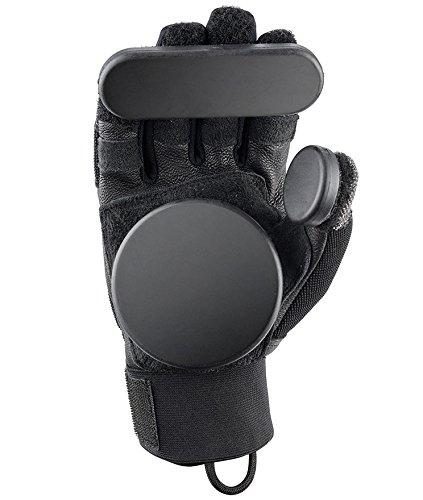 Osprey Erwachsene Skateboard Slide Handschuhe mit abnehmbarem Pucks S schwarz