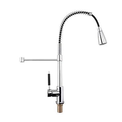 Lovinland Kitchen Faucet, All Copper Kitchen Sp...