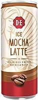 Douwe Egberts IJskoffie Ice Mocha Latte, Koffie met Melk en Zachte Mokka Smaak (12 Blikjes, 100% Arabica Koffie, Ice...