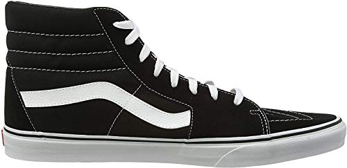 Vans Herren U SK8-HI High-Top Sneaker,Schwarz (Black), 50 EU