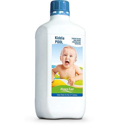 Huwa-San KiddiePOOL Wasserpflege für Planschbecken und Kinder-Pools ohne Chlor (1L bis 1m³)