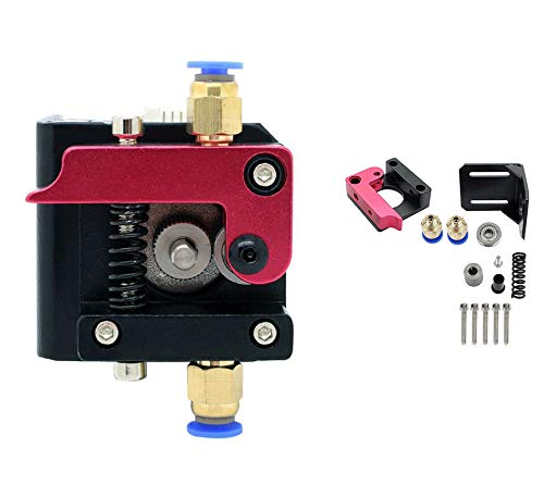 MK8 Extrusor Aluminio MK8 Drive Feed 3D Impresora Extrusores 1.75mm Filament para RepRap Redrex Creality Ender 3/3 Pro CR-10, CR-10S, CR-10 S4, CR-10 S5 (mano izquierda)