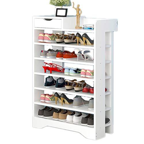Shoe rack Fuerte Mueble for Zapatos Multifuncional Mueble de Zapatos for el hogar Simple de múltiples Capas Estante for Zapatos pequeño en la Puerta Almacenamiento en casa (Color : C)