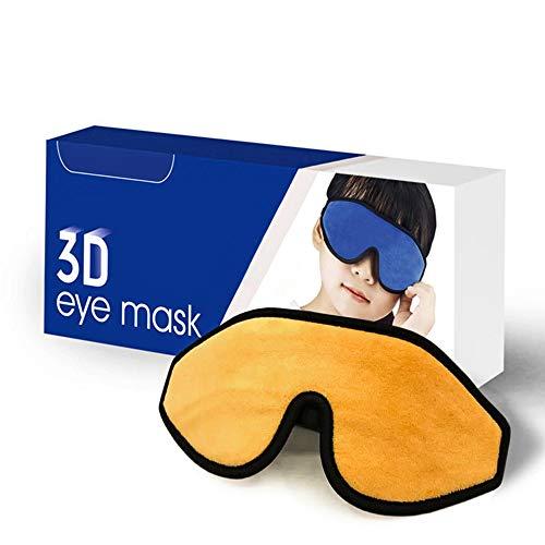 Mega Softe Schlafmaske für Kinder (1 Stk.) I Augenmaske für Mädchen und Jungen I Zu 100 {f97697e5ed3bbf5d9421f3a9f8aac8d1ca77f6c34fb2fe19c2ad0d6ec5994c39} Lichtundurchlässige I Atmungsaktiv & Schadstofffrei