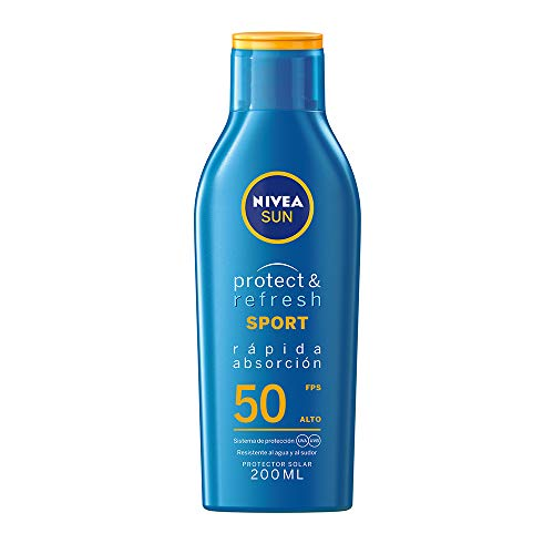 Nivea Sun Protector Solar Loción Fps 50+ Protect & Refresh, 200ml