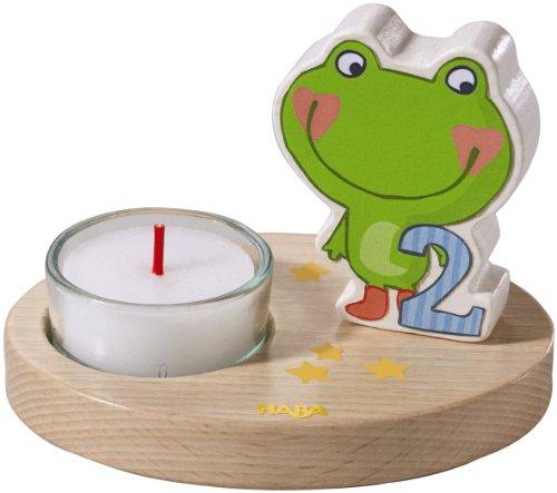 HABA 7642 - Teelichthalter 2. Geburtstag