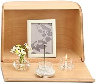 日本香堂 やさしい時間 祈りの手箱 ナチュラル (仏壇 仏具 お線香)