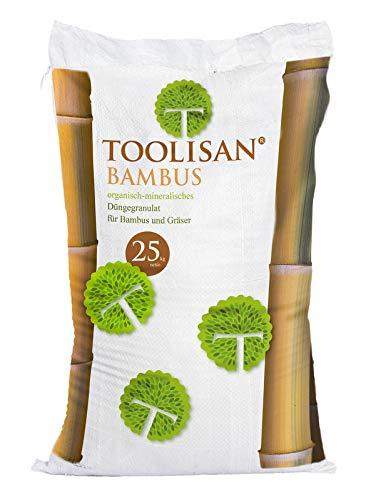 Bambusdünger TOOLISAN mit Langzeitwirkung - 25 kg Sack* (2,80 €/kg)