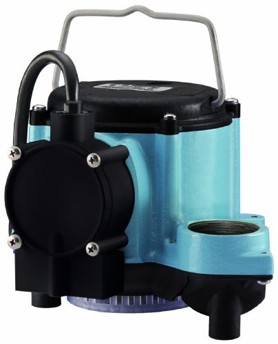 Little Giant GIDDS-521252 12393 1/3 HP Automatic Sump Pump