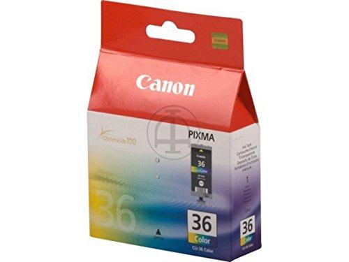 Canon Pixma IP 100 Portable (CLI-36 / 1511 B 001) - original - Tintenpatrone (cyan, magenta, gelb) - 249 Seiten - 12ml