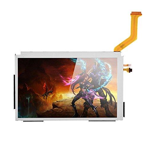 Bewinner Ersatzbildschirm für Nintendo 3DSLL LCD-Bildschirmanzeige Oberes und Unteres Ersatzteil Oberes LCD-Bildschirmanzeige LCD Screen Display Reparaturteil für Nintendo 3DS LL