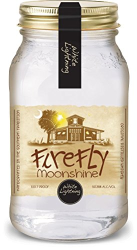 Firefly Moonshine White Lightning Corn Whiskey 50,35% 0,75l Set inkl Ausschüttaufsatz