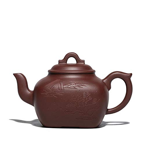 Zisha Teapot Purple Clay Teapot Handmade Raw Ore Household Teapot