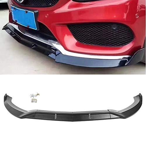 GZYF Spoiler Delantero Parachoques Delantero Coche Parachoques Labio Divisor Barbilla Cubierta Trim Compatible con 2015-2018 Mercedes Benz...