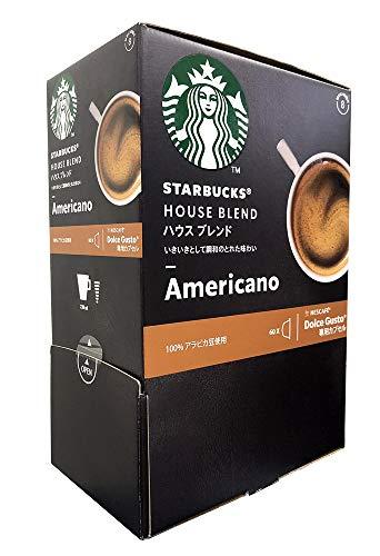 Nestle(ネスレ) スターバックス ハウスブレンド ネスカフェ ドルチェ グスト 専用カプセル 1箱(60杯分)