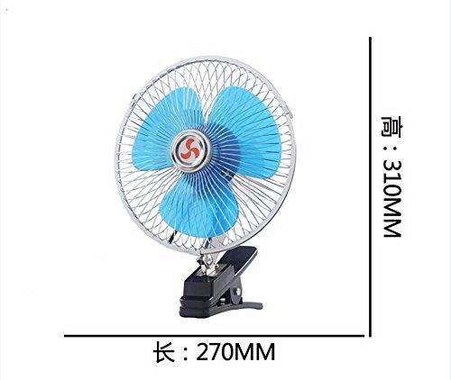 JISHUQICHEFUWU Ventilateur/Voiture avec Un Petit Ventilateur/Ventilateur Rotatif/pièces Auto, F, 24V
