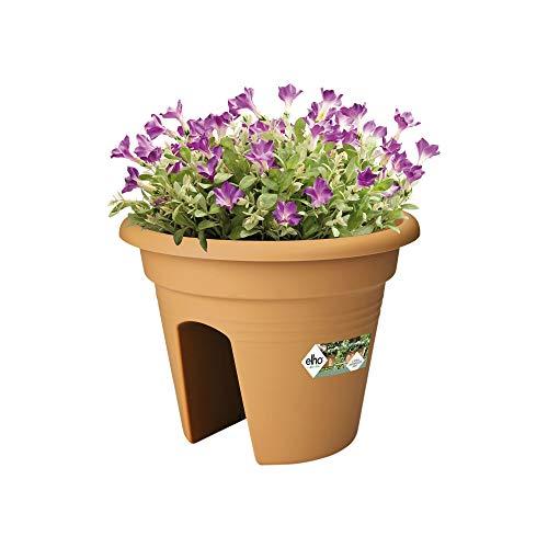 Elho Green Basics Flower Bridge Fioriera, Marrone, 30 CM